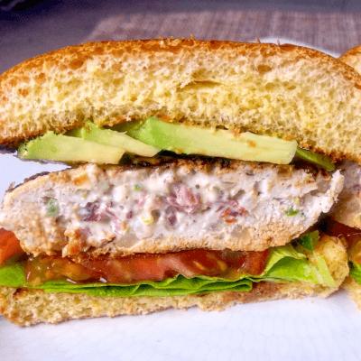 Jalapeno Popper Turkey Burgers