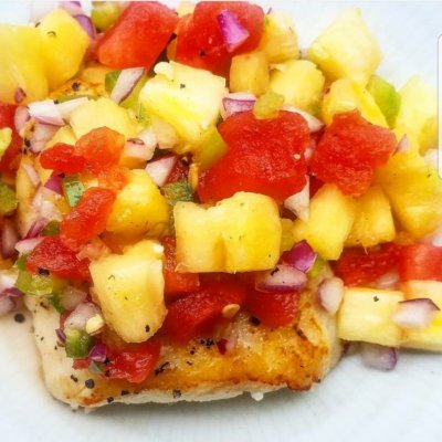 Pineapple and Watermelon Salsa