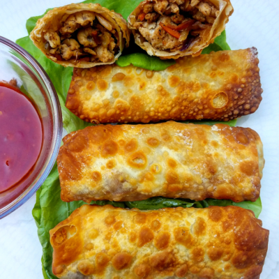 Chinese-Style Egg Rolls (Air Fryer or Oven)