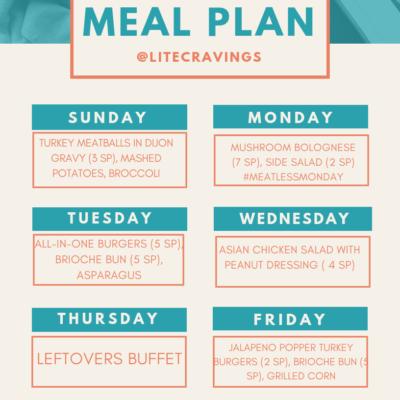 Menu Plan: May 5-11