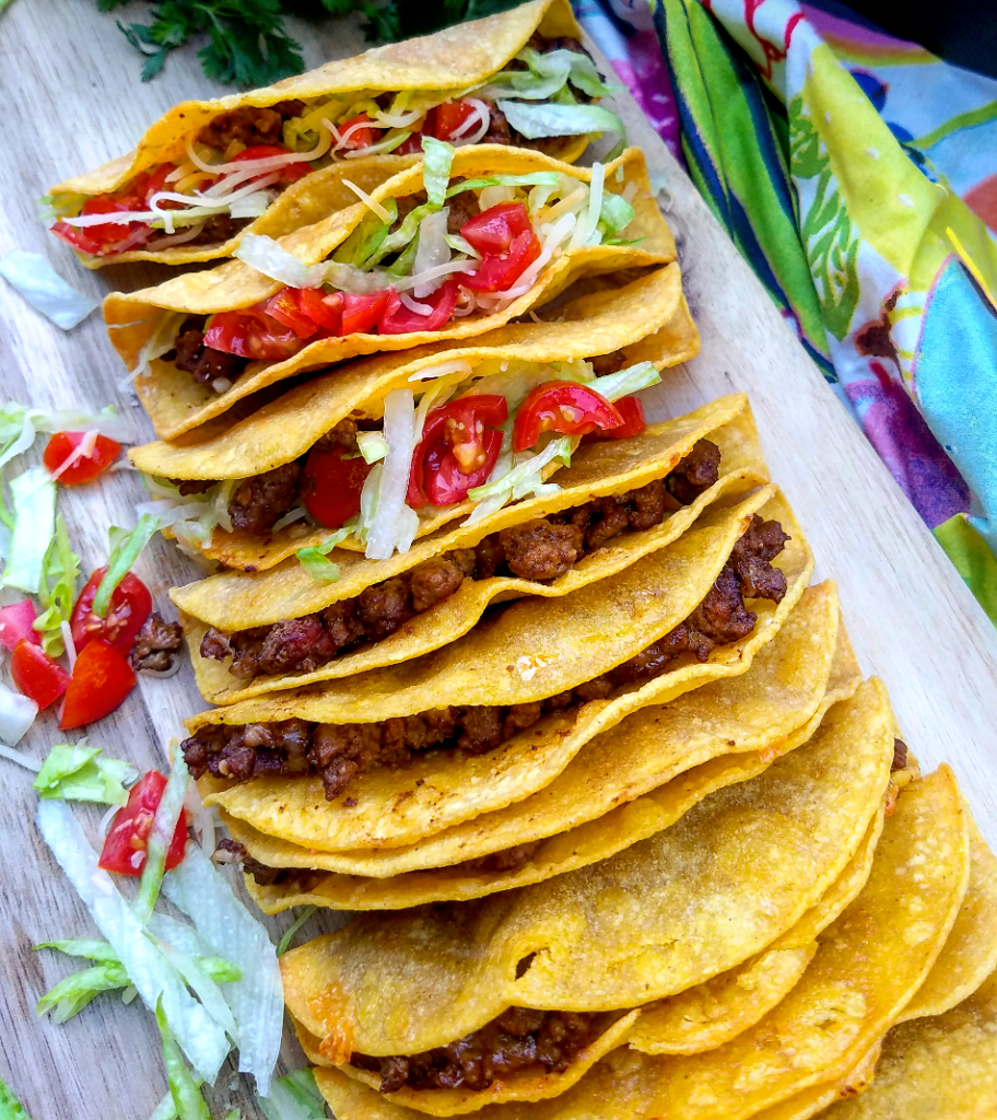 Baked Crispy Beef Tacos Lite Cravings Ww Recipes