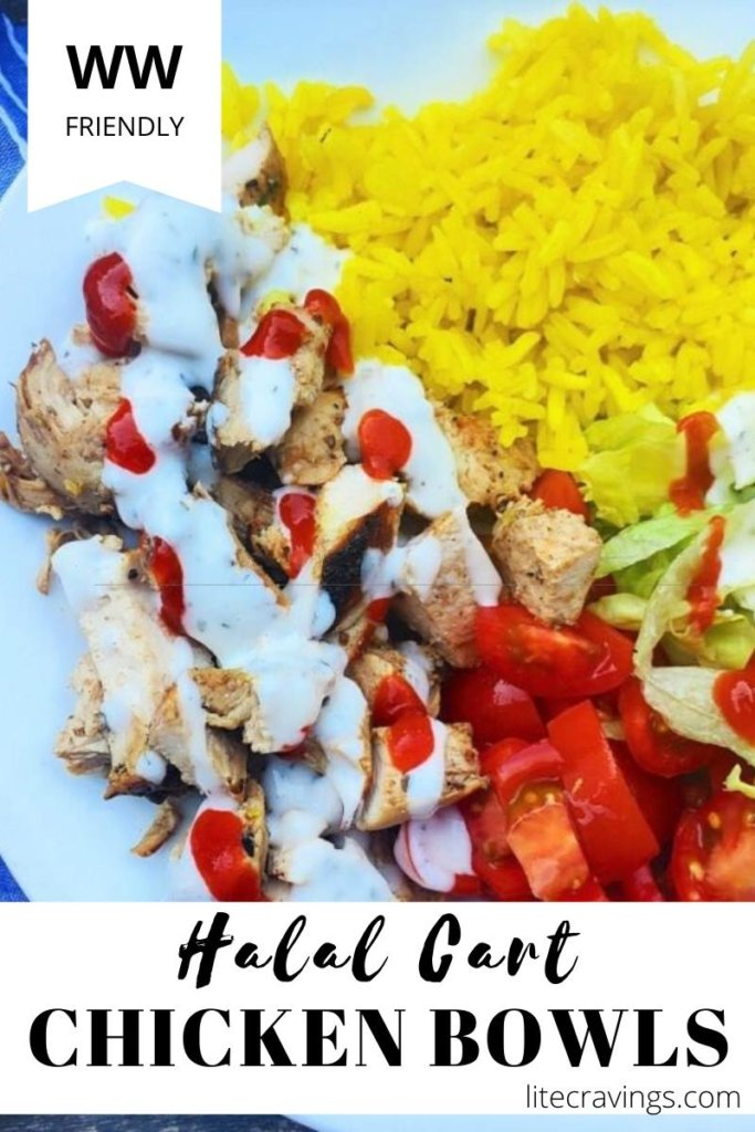 Halal Cart Chicken Bowls Lite Cravings Ww Recipes